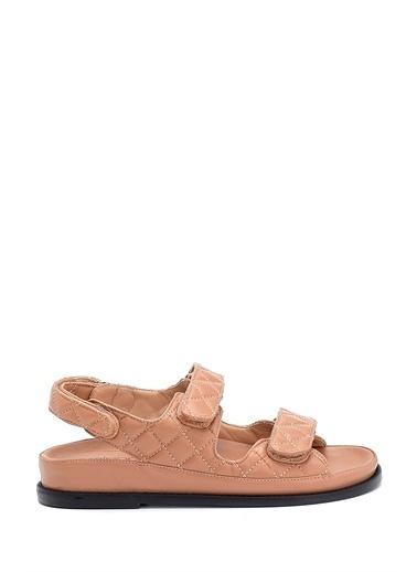Derimod Kadın Sandalet (09701) Casual Bej